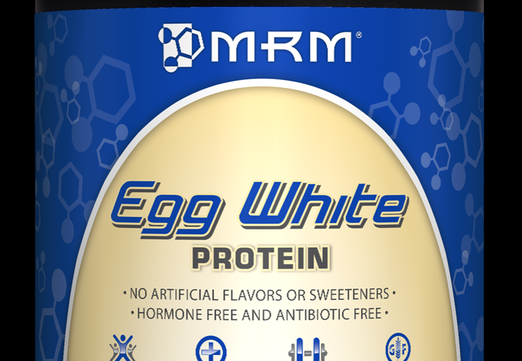 Egg White Protein French Vanilla (12 oz) Metabolic Response Modifiers