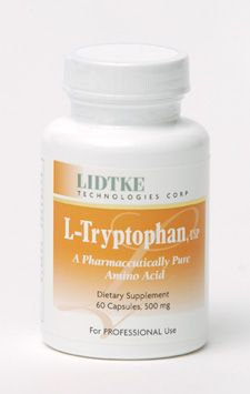 L-Tryptophan (500 mg 60 capsules)* Lidtke