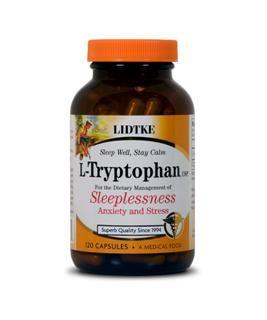 L-Tryptophan (500 mg 120 capsules)* Lidtke