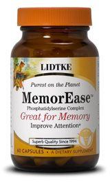 MemorEase | PS Complex (60 capsules)* Lidtke