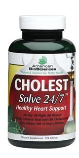 CholestSolve 24/7 (120 tab) American BioSciences
