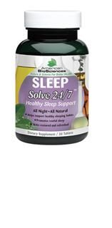 SleepSolve 24/7 (30 tab) American BioSciences