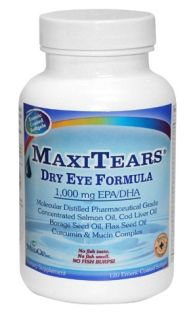 MaxiTears Dry Eye Formula (120 softgels)* MedOp Inc