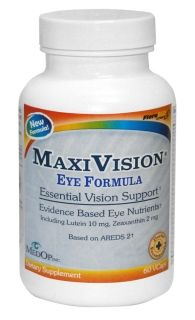 Eye Formula by Maxivision (60 capsules)* MedOp Inc