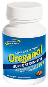 SuperStrength Oreganol P73 gelcaps (60 gels) North American Herb and Spice