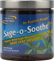 Sage-o-Soothe Tea ( 3.2 oz) North American Herb and Spice