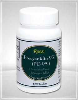 PC-95, Procyanidin 95 (180 tablets) Roex