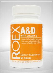 Vitamin A & D Formula (120 tablets)* Roex