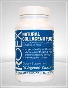 Natural Collagen II Plus (90 capsules) Roex