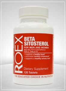 Beta Sitosterol (120 tabs) Roex