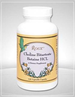 Choline Bitartrate (120 capsules) Roex