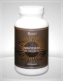 Magnesium-Potassium (120 capsules) Roex