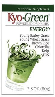 Kyo-Green Energy Drink Mix Powder (2.8 oz) Kyolic