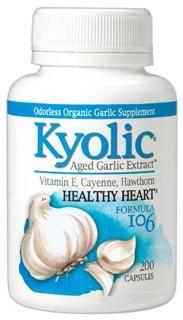 Kyolic Healthy Heart Formula 106 (200 capsules) Kyolic