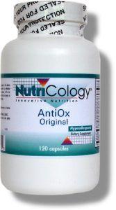 AntiOx - Original Formula (120 Vcaps) NutriCology