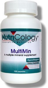 MultiMin (120 Vcaps) NutriCology