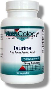 Taurine 500 mg (100 Vcaps) NutriCology