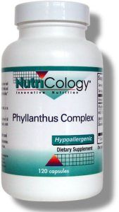 Phyllanthus Complex (120 Vcaps) NutriCology