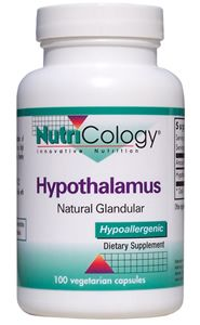 Hypothalamus Natural Glandular (100 caps) NutriCology