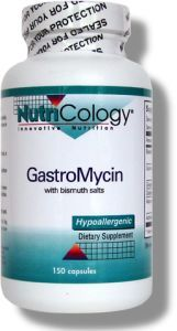 GastroMycin with Bismuth Salts (150 Vcaps) NutriCology