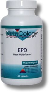 EPD Basic Multivitamin (150 Vcaps) NutriCology