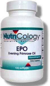 EPO Evening Primrose Oil (120 softgels) NutriCology