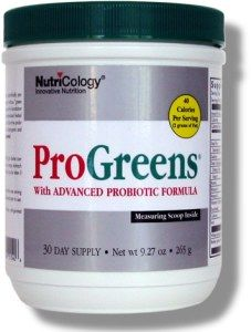 ProGreens | Advanced Probiotic Formula (265g) NutriCology