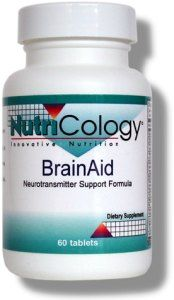 BrainAid (60 tablets) NutriCology