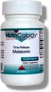 Time Release Melatonin 1.2 mg (60 tabs) NutriCology