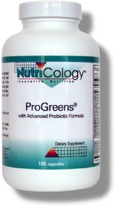 ProGreens Capsules (180 Vcaps) NutriCology