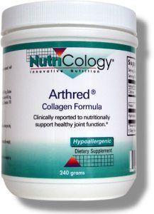 Arthred Collagen Formula (240 grams powder) NutriCology