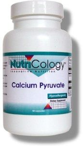 Calcium Pyruvate Vegetarian Caps (90 Vcaps) NutriCology