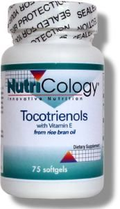 Tocotrienols with Vitamin E (75 softgels) NutriCology