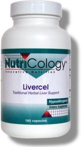 Livercel (180 caps) NutriCology