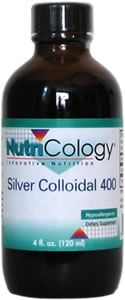 Silver Colloidal 400 (4 oz) NutriCology