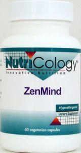 ZenMind (60 caps) NutriCology
