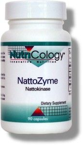 NattoZyme - Nattokinase, NSK-SD (36 mg 90 softgels) NutriCology