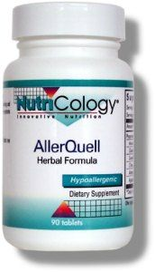 AllerQuell Herbal Formula (90 tablets) NutriCology