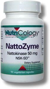 NattoZyme - Nattokinase, NSK-SD (50 mg 90 capsules) NutriCology