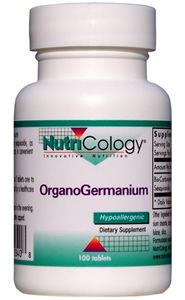 OrganoGermanium (100 tablets) NutriCology