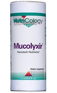 Mucolyxir Nanotech Nutrients Liquid (12 ml) NutriCology