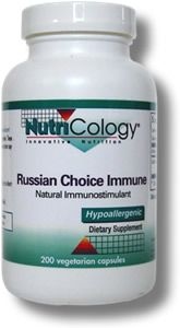 Russian Choice Immune (200 Vcaps) NutriCology
