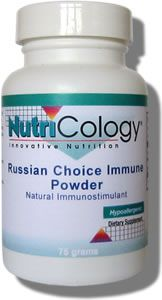 Russian Choice Immune Powder (75 grams) NutriCology