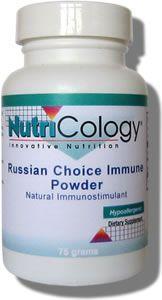 Russian Choice Immune Powder (75 grams) NutriCology