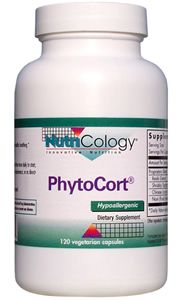 PhytoCort (120 vcaps) NutriCology