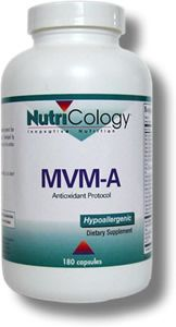 MVM-A Antioxidant Protocol (180 v caps) NutriCology