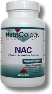 NAC Enhanced Antioxidant Formula (90 tablets) NutriCology