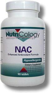 NAC Enhanced Antioxidant Formula (90 tablets) NutriCology