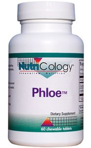 Phloe Chewable Tablets (1070 mg 60 tabs) NutriCology