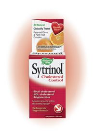 Sytrinol Cholesterol Control (120 Softgels) Nature's Way